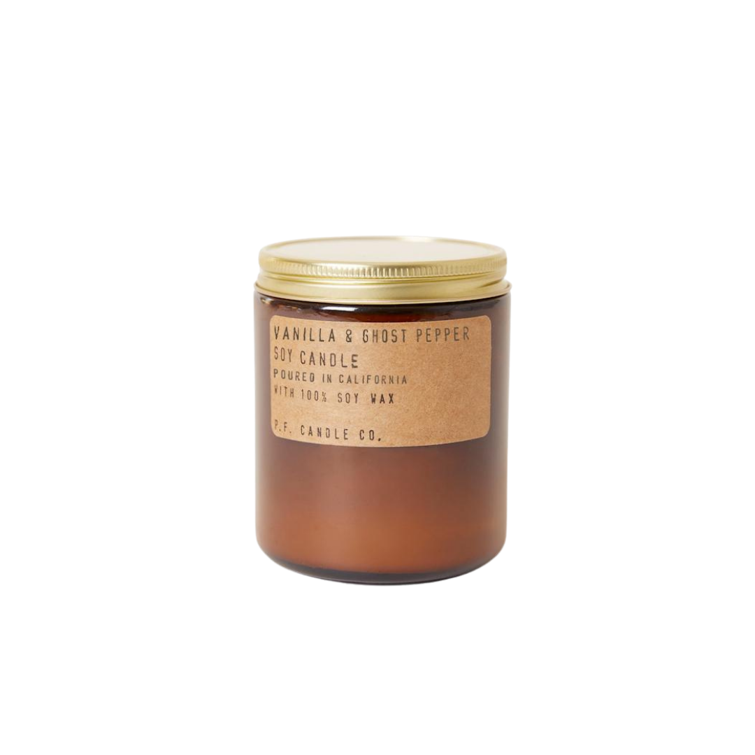 P. F. Candle Co. Soy Candle Vanilla & Ghost Pepper 7.2oz