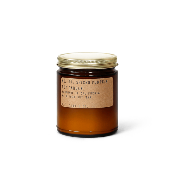 P. F. Candle Co. Soy Candle Spiced Pumpkin - 7.2oz