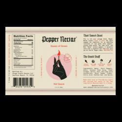 Pepper Nectar Queen of Green Hot Sauce - 148mL