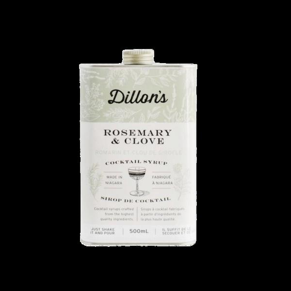 Dillon's Rosemary + Clove Cocktail Syrup - 500mL