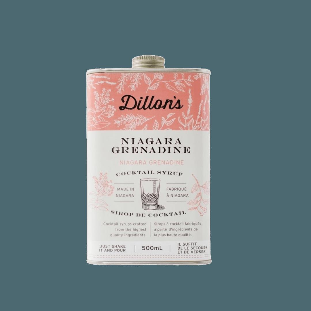 Dillon's Niagara Grenadine Cocktail Syrup - 500mL