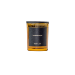 Brand + Iron Amber Series Soy Candle - Sweet Balsam 8oz