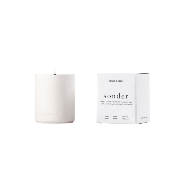 Brand + Iron Laconic Collection -  Sonder 9oz