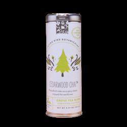 Flying Bird Botanicals Cedarwood Chai Organic Tea Tin - 15 bags
