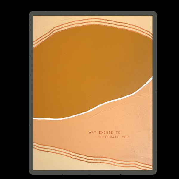 Someday Studio Celebrate You Greeting Card