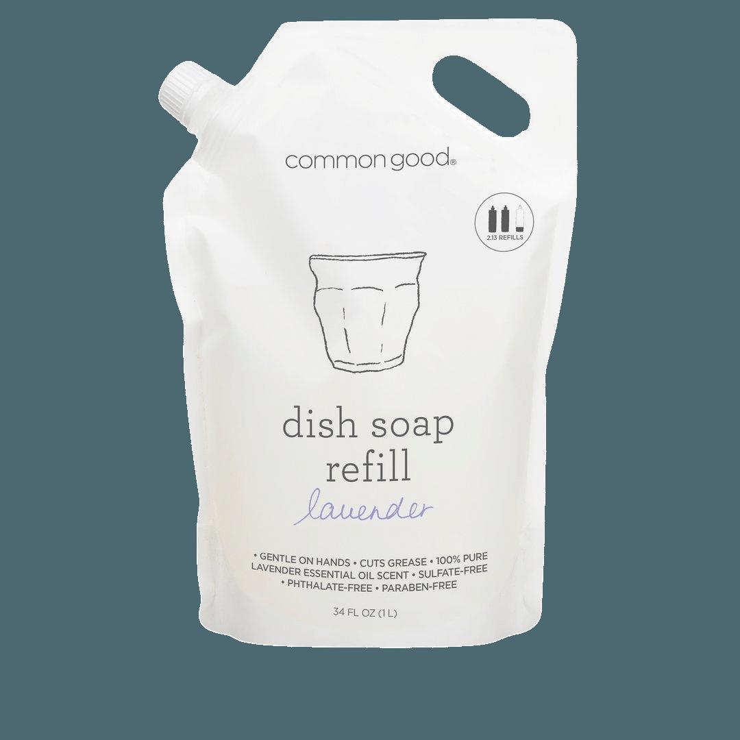 Common Good Lavender Dish Soap Refill Pouch - 34oz
