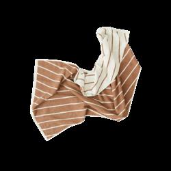 OYOY Living Design Raita Organic Cotton Towel Cloud/Caramel - Small