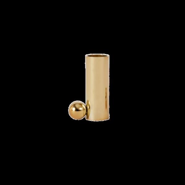 OYOY Living Design Palloa Candleholder High - Brass