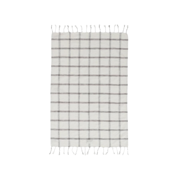 OYOY Living Design Kyoto Organic Cotton Guest Towel - Off White