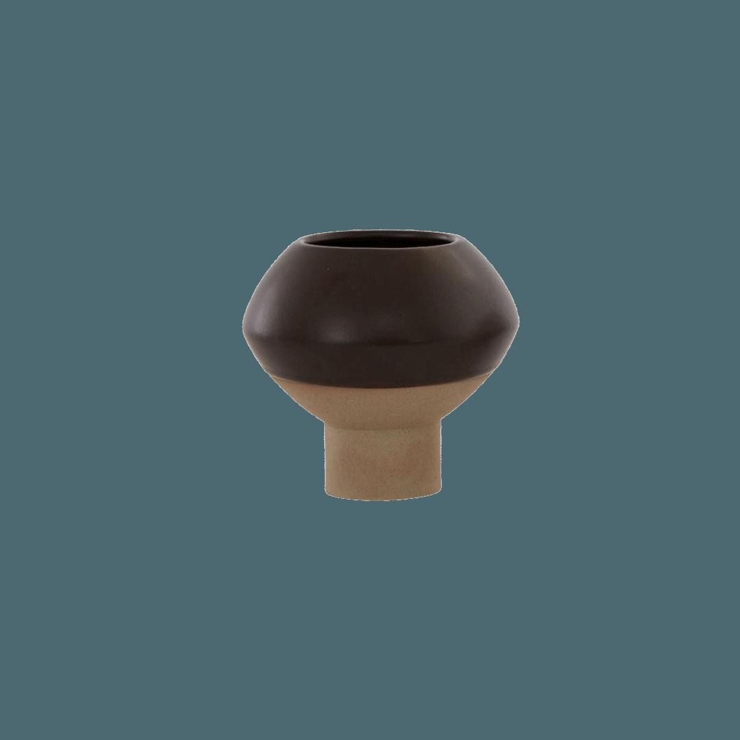 OYOY Living Design Hagi Mini Vase - Brown