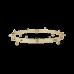 OYOY Living Design Pearl Advent Candelabra - Brass