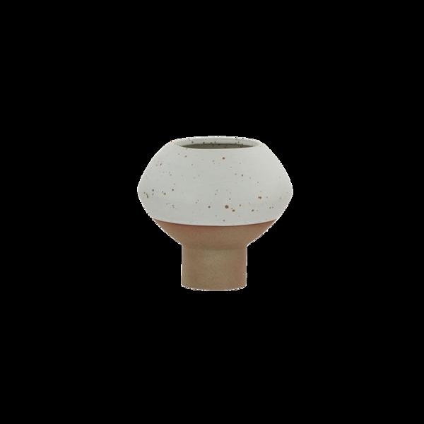 OYOY Living Design Hagi Mini Vase - White/Light Brown
