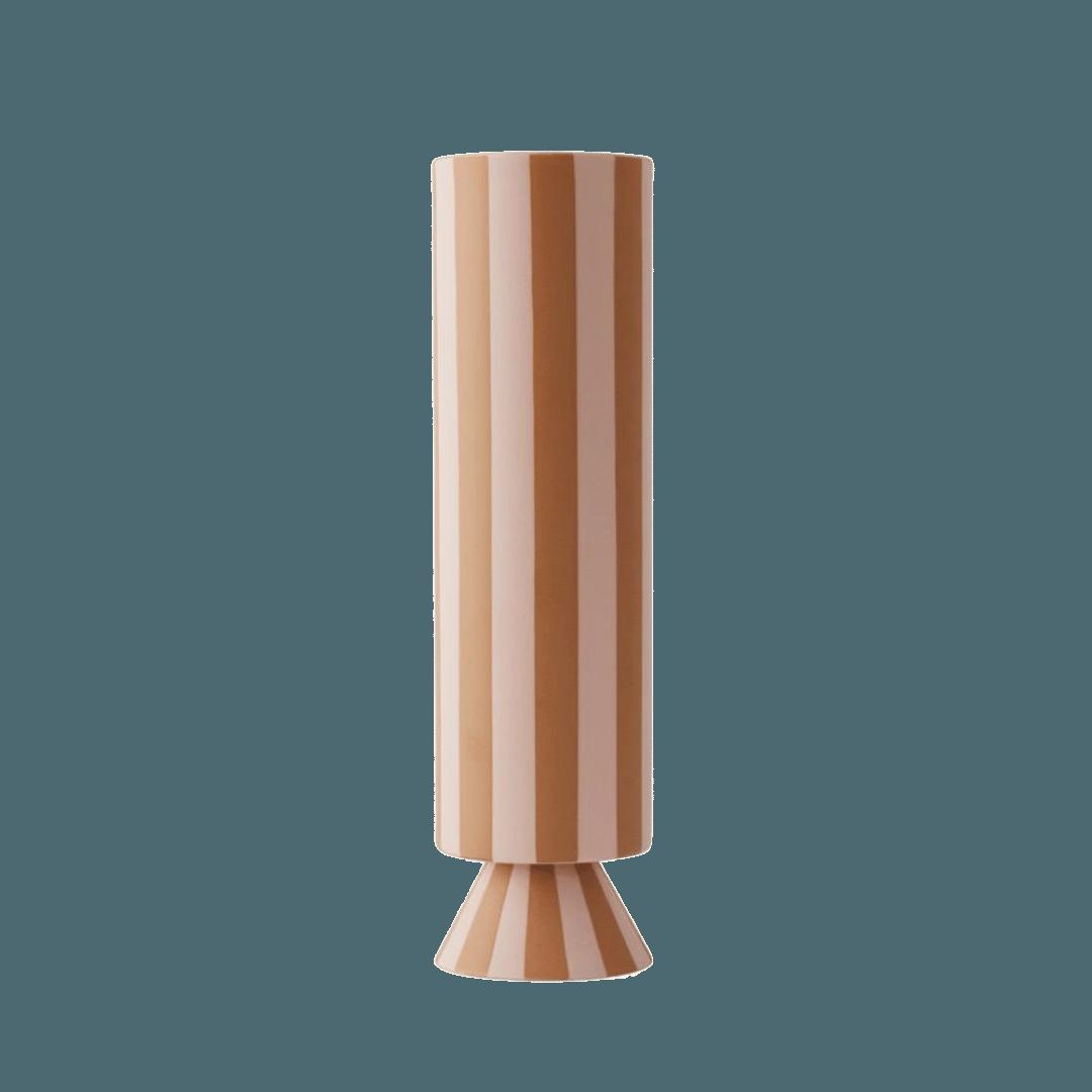OYOY Living Design Toppu Vase - Caramel
