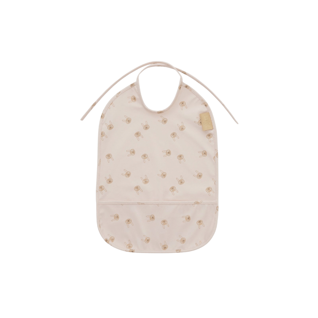 OYOY Living Design Rabbit Bib - Rose