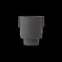 OYOY Living Design Inka Kana Pot Medium - Anthracite