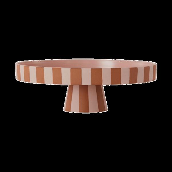 OYOY Living Design Toppu Tray - Large Caramel/Rose