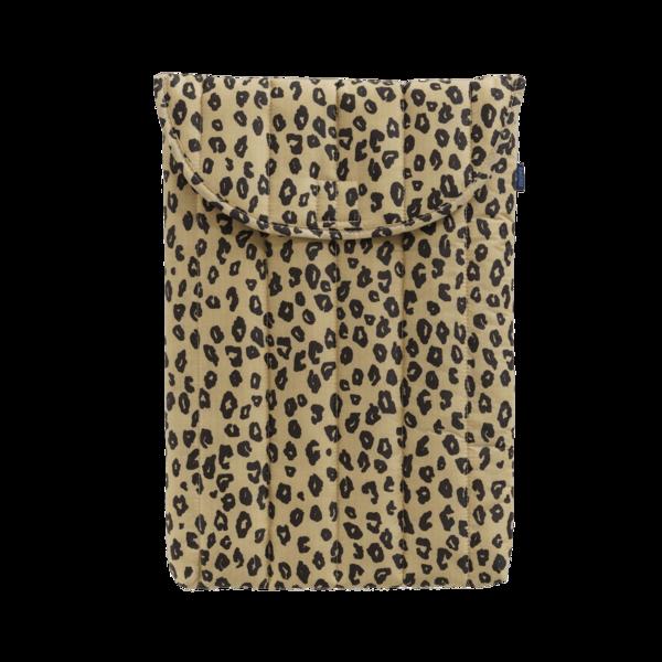 "Baggu Puffy Laptop Sleeve 16"" - Honey Leopard"