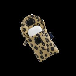 Baggu Puffy Earbuds Case - Honey Leopard