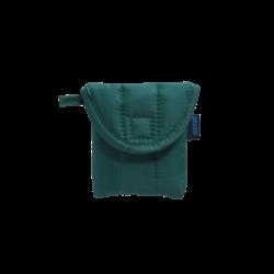 Baggu Puffy Earbuds Case - Malachite