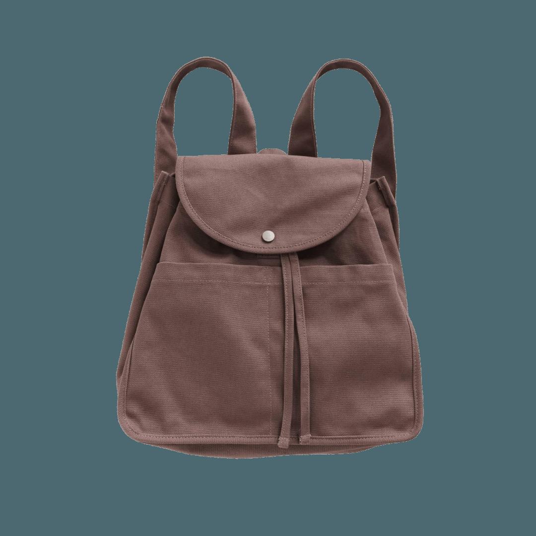 Baggu Drawstring Backpack - Peppercorn