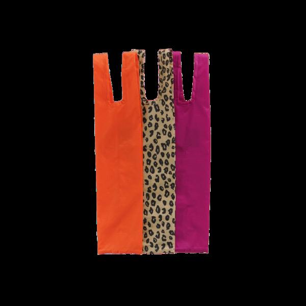 Baggu Wine Bags - Sunset Leopard (S/3)