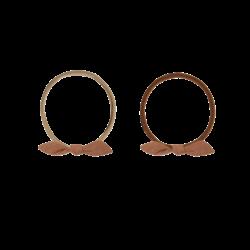 Quincy Mae Little Knot Headband - Clay
