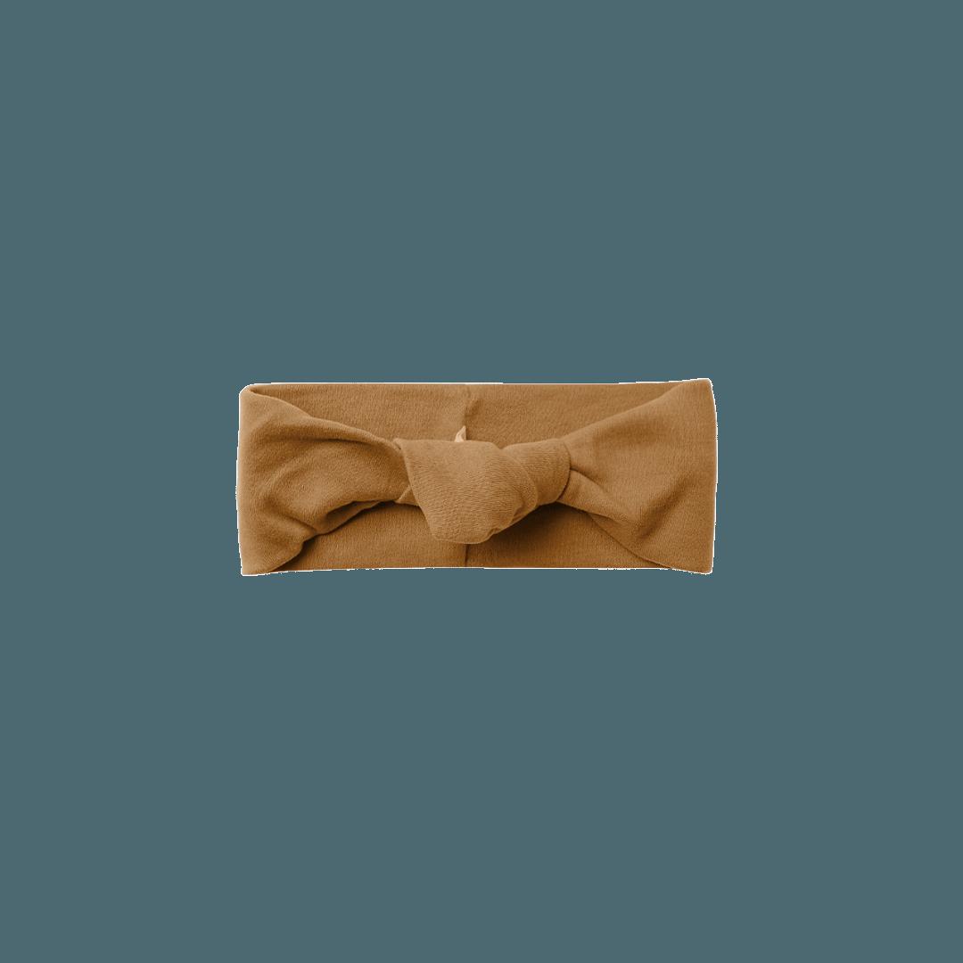 Quincy Mae Baby Turban - Walnut
