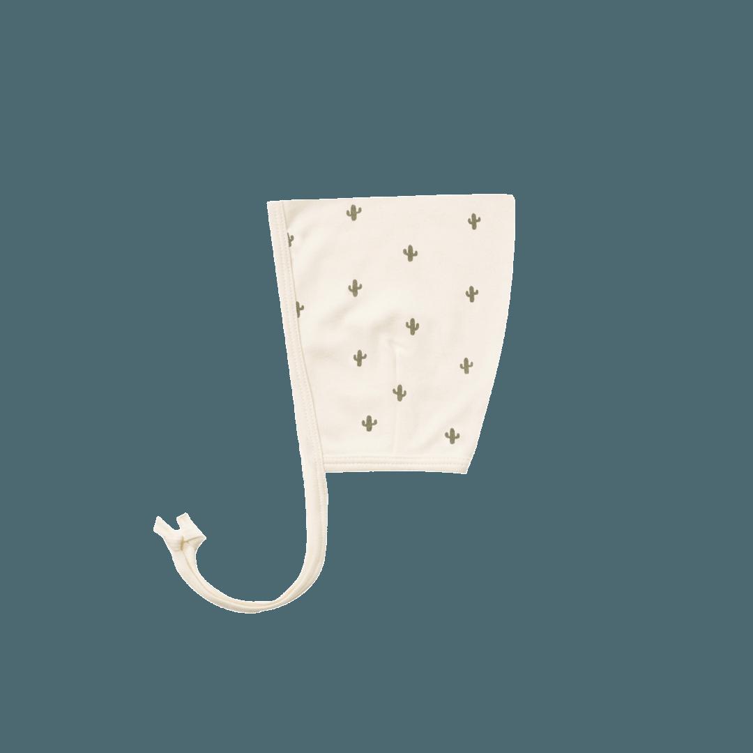 Quincy Mae Pixie Bonnet - Ivory Cactus