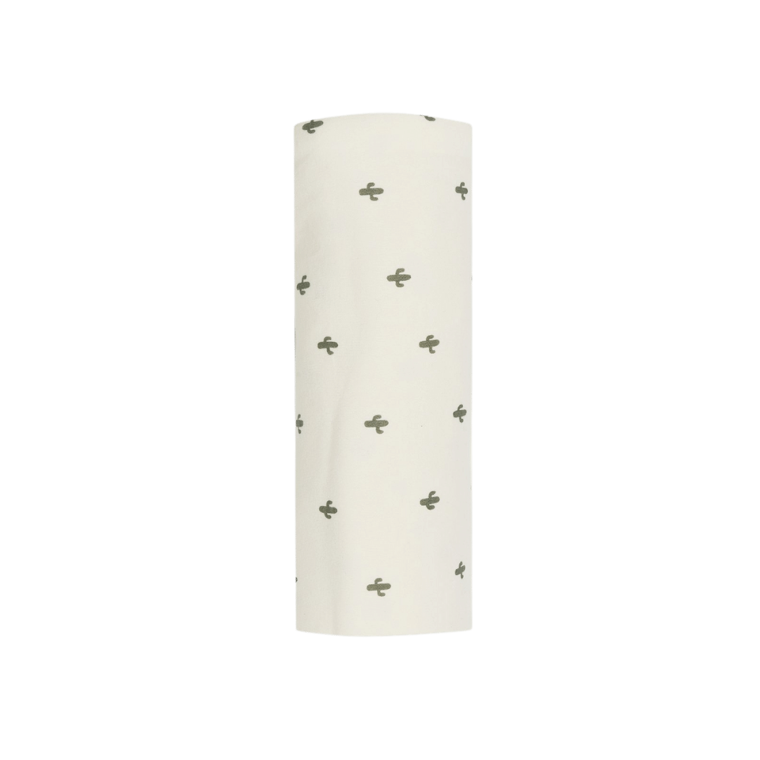 Quincy Mae Organic Bamboo Swaddle - Ivory