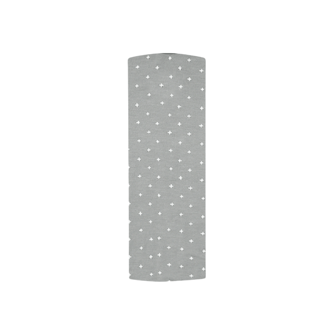 Quincy Mae Organic Bamboo Swaddle - Dusty Blue