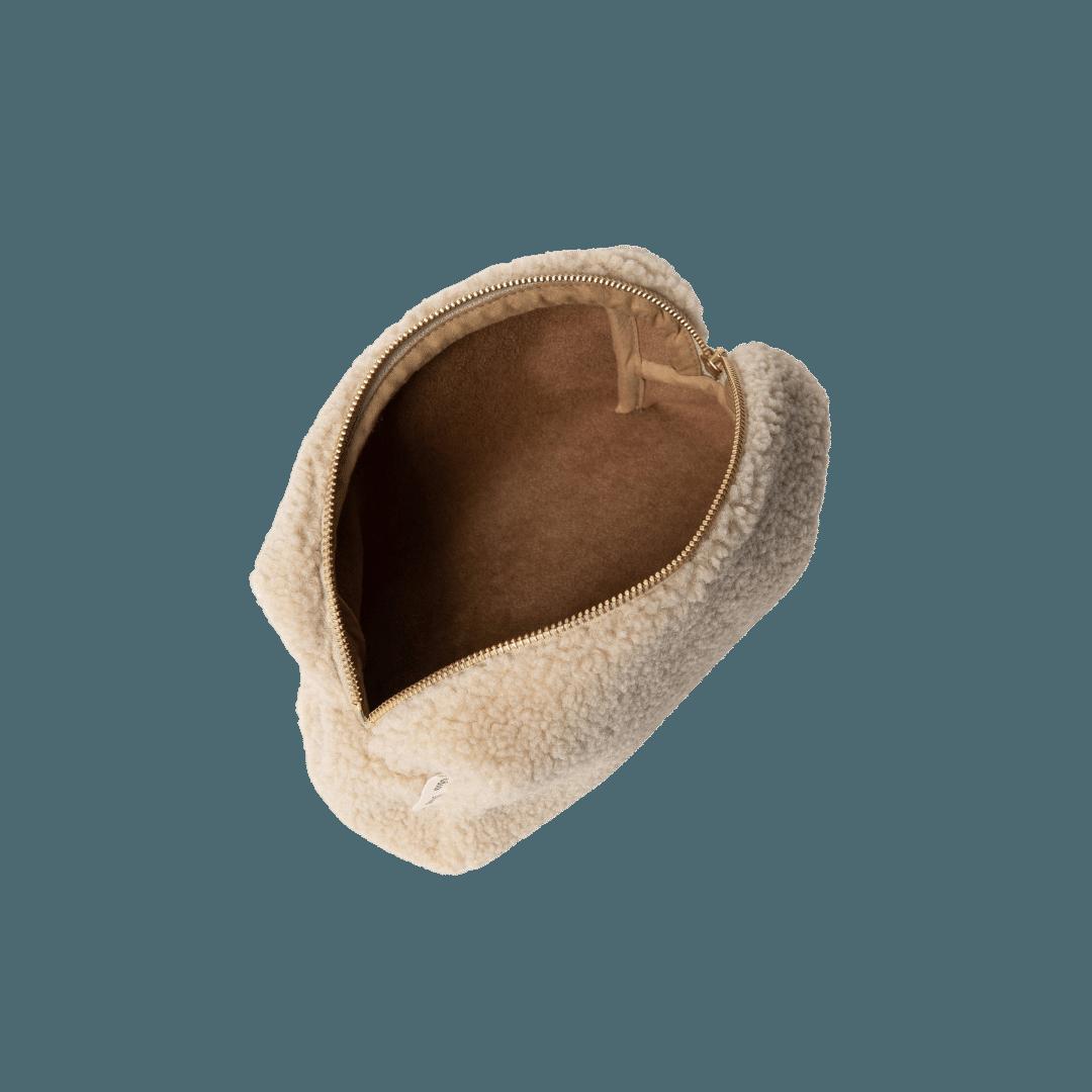 Studio Noos Chunky Teddy Pouch - Cream