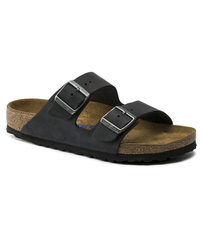 Birkenstock Arizona Oiled Leather Soft Footbed