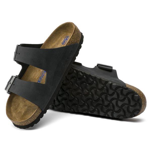 Birkenstock Birkenstock Arizona Leather Soft Footbed