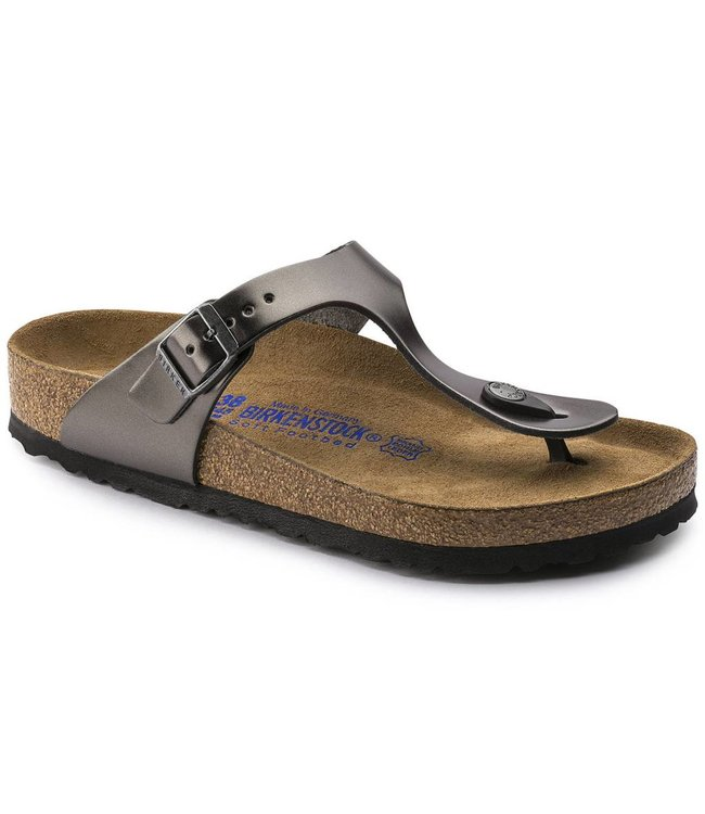 Birkenstock Gizeh Metallic Soft Footbed
