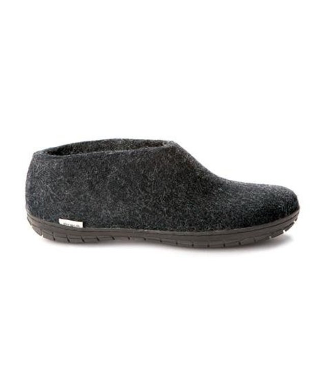 Glerups Shoe with Black Rubber Sole