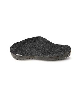 Glerups Slipper with Black Rubber Sole