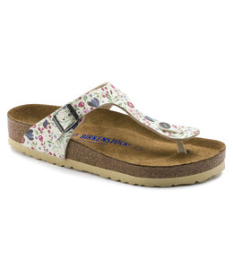 Birkenstock Gizeh Flowers Soft Footbed