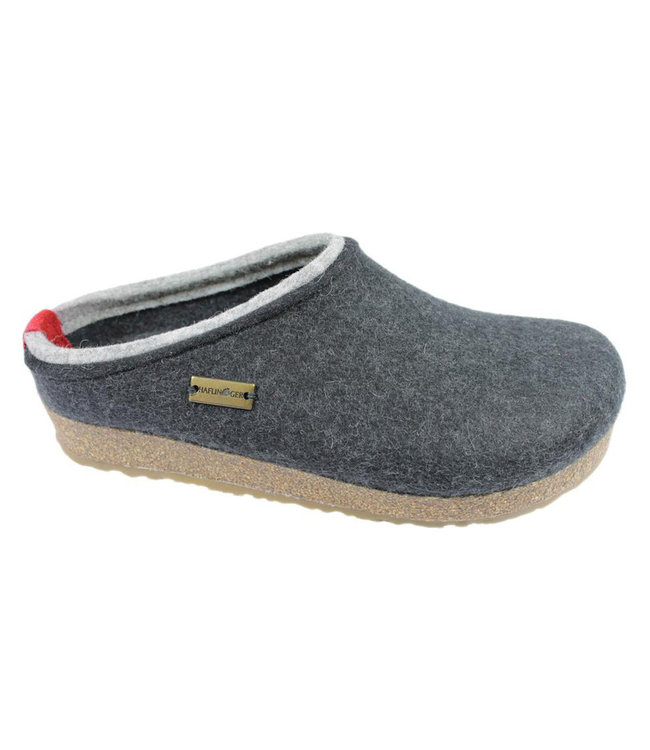 Haflinger Grizzly Kris Wool Clog