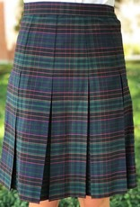Elder Manufacturing Co Plaid Half Size Skirt