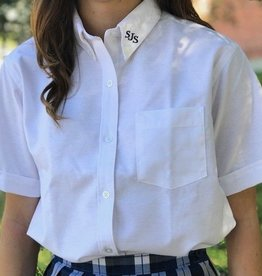 Tulane Shirts, Inc. S/S Girls Catholic/Blank Oxford
