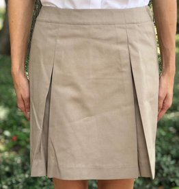 K-12 Inverted Skort 7-18 Khaki