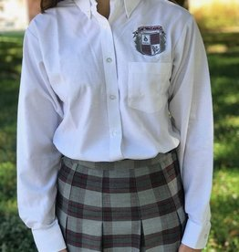 Tulane Shirts, Inc. STA L/S Girls Oxford   42