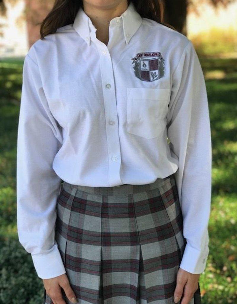 Tulane Shirts, Inc. STA L/S Girls Oxford   42