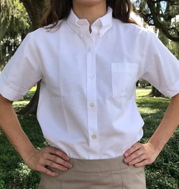 Tulane Shirts, Inc. S/S Ladies Blank Oxford