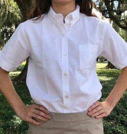Tulane Shirts, Inc. S/S Ladies Blank Oxford