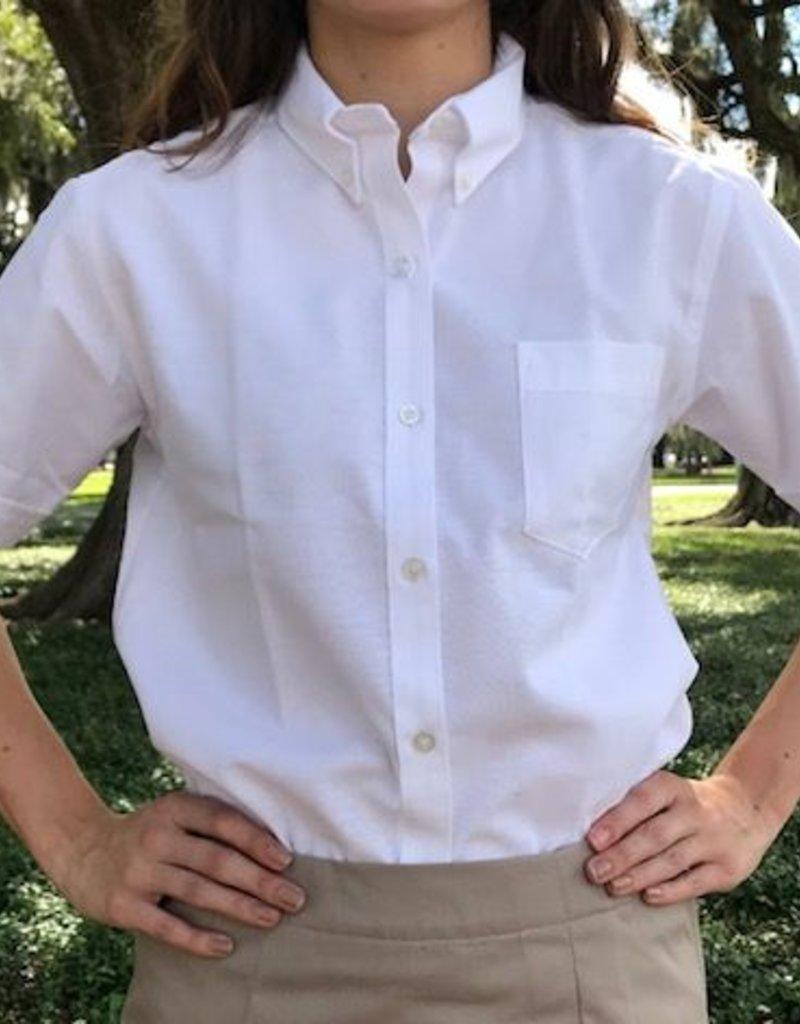 Tulane Shirts, Inc. S/S Girls Oxford Blank