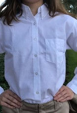Tulane Shirts, Inc. L/S Ladies Blank Oxford