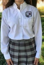 Tulane Shirts, Inc. L/S Girls Catholic/Blank Oxford