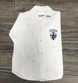 Tulane Shirts, Inc. L/S Girls Catholic/Blank Broadcloth