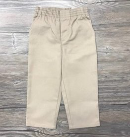 K-12 Pull-On Pants Khaki